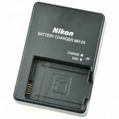 Incarcator Nikon MH-24 pt acumulator EN-EL14 DSLR D3100 D3200 D3300 D5100 P7000 - Incarcator Aparat Foto