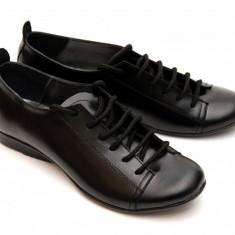 Pantofi dama piele naturala cu siret, casual - FOARTE COMOZI