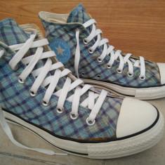 Tenisi, bascheti CONVERSE ALL STAR nr 40 - Tenisi barbati Converse, Culoare: Albastru, Textil