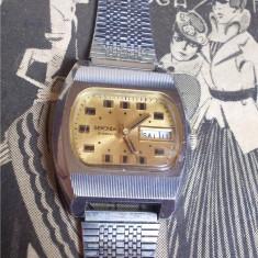 Ceas rusesc de colectie SEKONDA, cal Raketa 2628.H, 19J, pt export, functional - Ceas de mana
