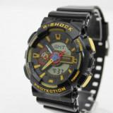 CASIO G-SHOCK GA 110, Black Yellow Edition !!! - Ceas barbatesc