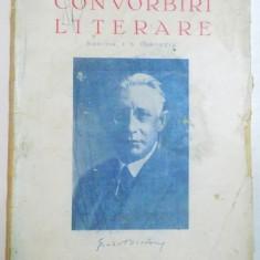 CONVORBIRI LITERARE, ANUL 75, N-RELE 7-8, IULIE-AUG. 1942, DIRECTOR : I.E. TOROUTIU - Revista culturale