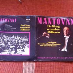 Mantovani Ein Klang verzaubert millionen disc vinyl lp DECCA Muzica Clasica decca classics vest, VINIL