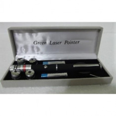 Laser verde 1000mW cu 5 capete de schimb