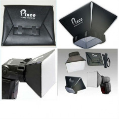 Softbox Flash diffuser Pixco universal YongNuo Canon Nikon Pentax Sony Metz