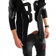 Hanorac tip ZARA fashion negru - hanorac barbati - LICHIDARE DE STOC 6023