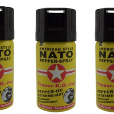 Spray cu piper Nato Ko Fog/Spray autoaparare - Spray paralizant