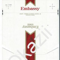 Pachet tigari - Ambalaj pachet cartonat tigari Ambassy Kings