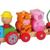 Masinuta electrica copii - Tractoras Cu Figurine