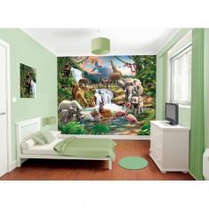 Tapet pentru Copii Jungle Adventure - Decoratiuni petreceri copii