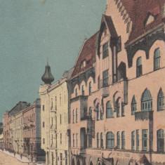 CERNAUTI, CASA GERMANA, CIRCULATA 1924 - Carte Postala Bucovina dupa 1918, Printata