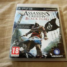 Joc Assassin's Creed IV Black Flag, PS3, original, alte sute de jocuri! - Jocuri PS3 Altele, Actiune, 18+, Single player