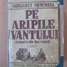 PE ARIPILE VANTULUI (GONE WITH THE WIND) M. MITCHEL, 1943, CARTONATA, VOL II - Carte Literatura Engleza