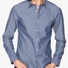 Camasa 100% bumbac - SELECTED - art 16045444 dark blue, slim fit - Camasa barbati Selected, Marime: S, M, L, XL, Culoare: Albastru