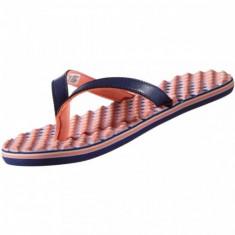PAPUCI ADIDAS EEZAY DOTS W COD S78132 - Papuci dama Adidas, Marime: 37, 38, 39, 40.5, Culoare: Bleumarin, Roz