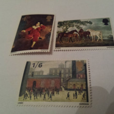 Anglia 1967 pictura / serie mnh - Timbre straine, Nestampilat