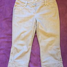 Pantaloni MARELLA by MAX MARA - Pantaloni dama Max Mara, Marime: Alta, Culoare: Gri, Trei-sferturi, Bumbac