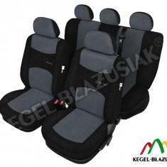 Husa Auto - Set huse scaune auto SportLine Gri pentru Vw Golf 2, Golf 3 Golf 4, Golf 5, Golf Plus - SHSA1833