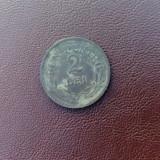 Monede Romania, An: 1924, Cupru-Nichel - BUN PENTRU 2 LEI 1924 ROMANIA (II)