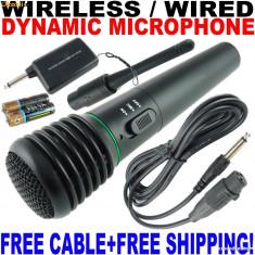 Microfon Altele WIRELESS SEMIPROFESIONAL + CONECTOR LAPTOP/PC