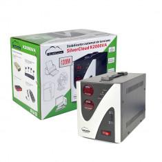 Resigilat - Stabilizator de tensiune SilverCloud 2000VA 1200W - UPS