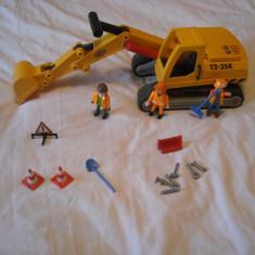 Playmobil City - Excavatorul 3001 - Masinuta de jucarie Playmobil, Plastic
