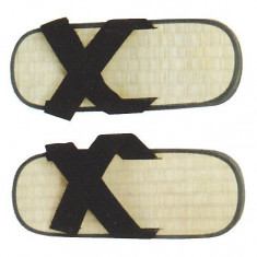 Zori X - paie de orez*45 - Sandale barbati