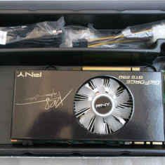 PNY GTS 250 512 ddr3 / 256 bits XLR8 Dual Dvi Performance Edition Box - Placa video PC PNY, PCI Express, 512 MB, nVidia