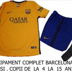 Set echipament fotbal Nike - ECHIPAMENTE FOTBAL COPII - BARCELONA MESSI-LIVRARE GRATUITA