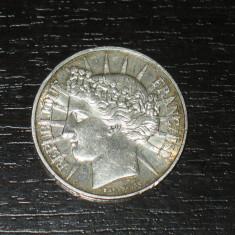 Moneda argint 100 franci Franta 1988, stare buna, Europa