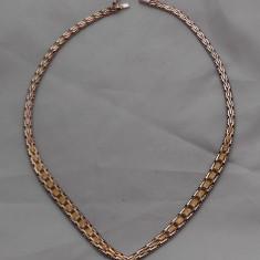 SUPERB COLIER ARGIN PLACAT CU AUR, Argint