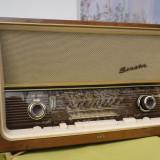 Aparat radio, Analog - Radio cu lampi AEG Senator super stereo