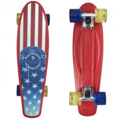 """Skateboard - Cruiser Kryptonics Torpedo Flag 22""""/56cm"""