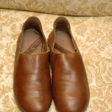 Pantofi barbati, Piele naturala - Pantofi Hush Puppies deosebiti, din piele foarte moale