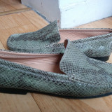 Pantofi dama Bata, Piele naturala - Pantofi din piele firma Bata marimea 38, sunt noi!