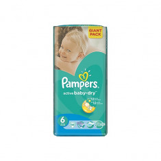 Scutece unica folosinta copii - Scutece PAMPERS GIANT PACK 6 ACTIVE BABY Pentru Copii
