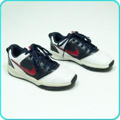 DE FIRMA _ Adidasi de calitate, piele, comozi, aerisiti, originali NIKE _ nr. 34 - Adidasi copii Nike, Culoare: Multicolor, Baieti, Piele naturala