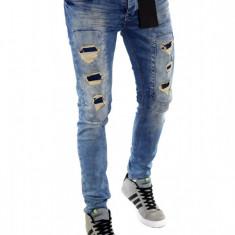Blugi tip Zara fashion - blugi barbati blugi conici CALITATE GARANTATA cod 6135