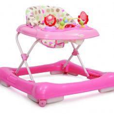 Premergator Copii si Bebe CANGAROO Steps Roz