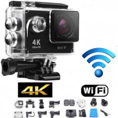 CAMERA DE ACTIUNE HD 4K Similar GOPRO + Acesorii Prindere - Camera Video Actiune