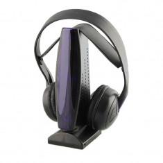 Casti DJ - Casti wireless 8 in 1 cu microfon si radio