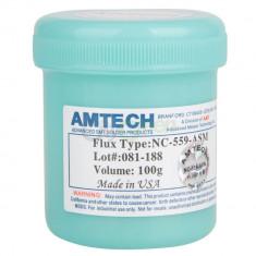 Pasta Flux Amtech NC-559-ASM Made USA holograma AMTECH 100gr reballing - Pasta termoconductoare