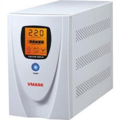 UPS V-Mark 1200VA, LCD, Power Management SW, UPS-1200VP, Cu management, Intre 1000 si 2499 VA, Alarma sonora