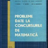 T. Roman - Probleme date la concursurile de matematica - 504943