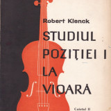 Robert Klenck - Studiul pozitiei I la vioara - 512351