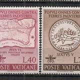 Vatican.1962 Campanie impotriva malariei CV.35 - Timbre straine, Nestampilat