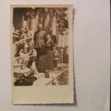 Carti Postale Romania dupa 1918, Necirculata, Fotografie - GE - Ilustrata fotografie veche Braila familie ofiter exterior 1935 necirculata
