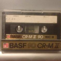 Casete Audio BASF CR - M II 90 min - IEC II - made in W.GERMANY - Casetofon