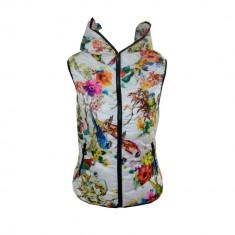 Vesta dama Adidas Originals Flowers - Model Primavar 2016 Cod Produs 8017, Marime: L, XL, Culoare: Din imagine, Microfibra