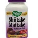 Produs Naturist - SHIITEKE MAITAKE 60CPS-Ciuperca medicinala